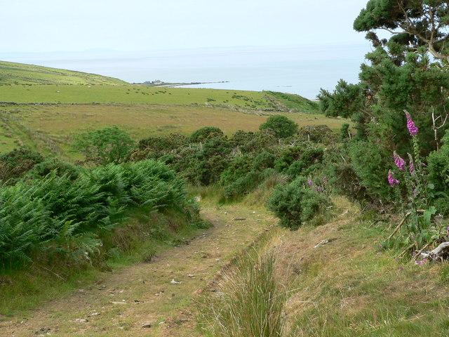 Moorland track above Beacharr