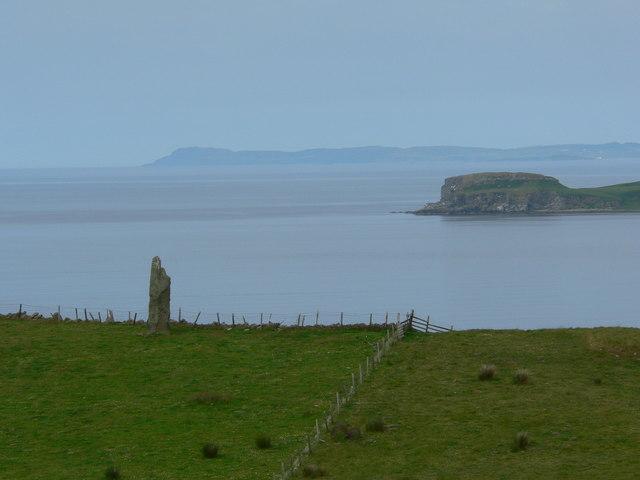Standing stone at Beacharr