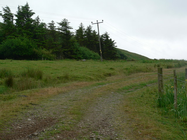 Track above Correchrevie