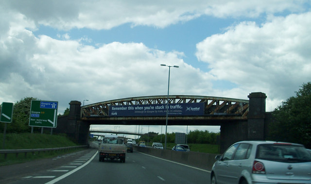 Rail Bridge over A8