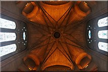SJ3589 : Underneath the central tower of Liverpool's Anglican Cathedral by Mike Pennington