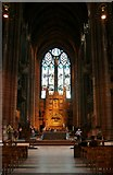 SJ3589 : Inside Liverpool's Anglican Cathedral by Mike Pennington