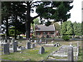 SU4416 : South Stoneham Cemetery Chapel by Mike Faherty