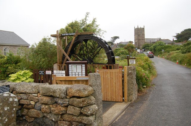 Zennor museum and church