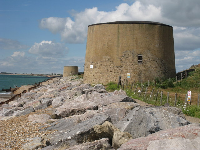 Martello Tower number 14, Hythe