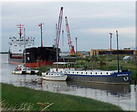 TA0623 : High Tide at Barrow Haven by David Wright