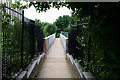 TQ3187 : Finsbury Park:  Footbridge over Great Northern line by Dr Neil Clifton
