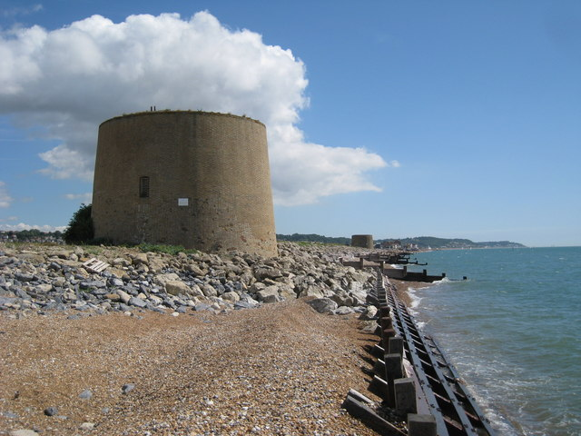 Martello Tower number 15 and 14, Hythe
