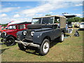 TQ9141 : Series 1 Land Rover at Darling Buds Classic Car Show by Oast House Archive