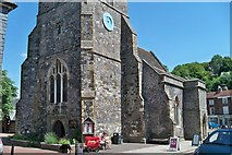 TQ4210 : St. Thomas a Becket Church - Lewes by Colin Babb