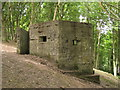 TR2035 : Pillbox near Martello Tower 6 by Oast House Archive