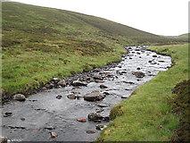 NN6664 : Upstream from the bridge by Lis Burke