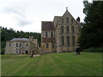 NZ1198 : Brinkburn  Priory  and  Manor  House by Martin Dawes