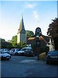TR1859 : Fordwich church by E Gammie