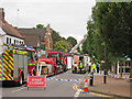TQ7843 : Emergency Services on High Street by Oast House Archive