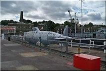 TQ7569 : Model Submarine - Chatham by Colin Babb