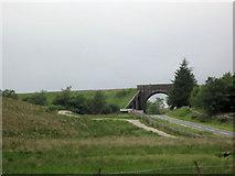 SD7992 : Railway bridge over A684 near Moorcock by John Firth