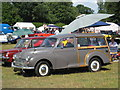 TQ9141 : Morris Minor Traveller at Darling Buds Classic Car Show by Oast House Archive