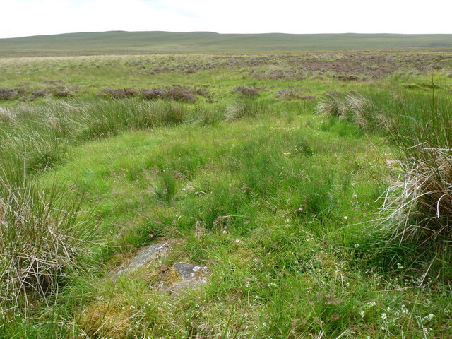 Shieling site by the Allt a' Cheracher