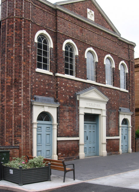 Swadlincote - Wesleyan Chapel
