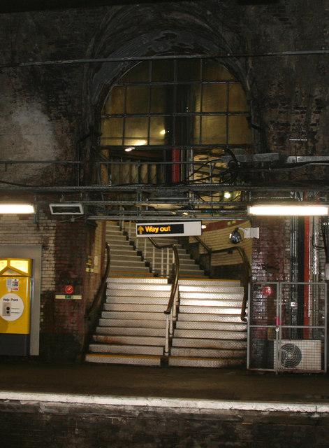 Liverpool James Street underground... © Dr Neil Clifton ...
