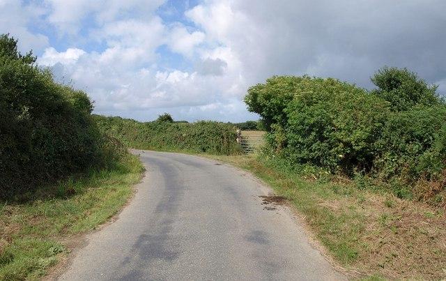Lane near Treloy
