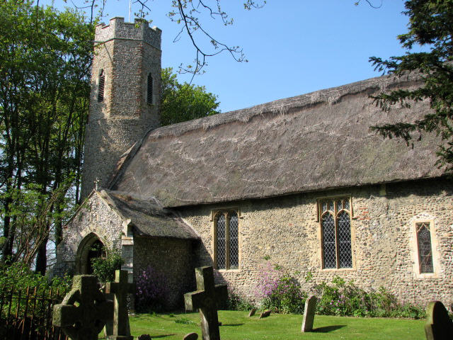 All Saints' church in Horsey