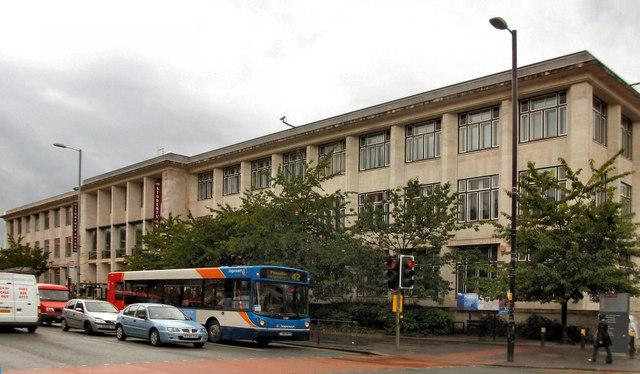 Manchester University Students' Union Building