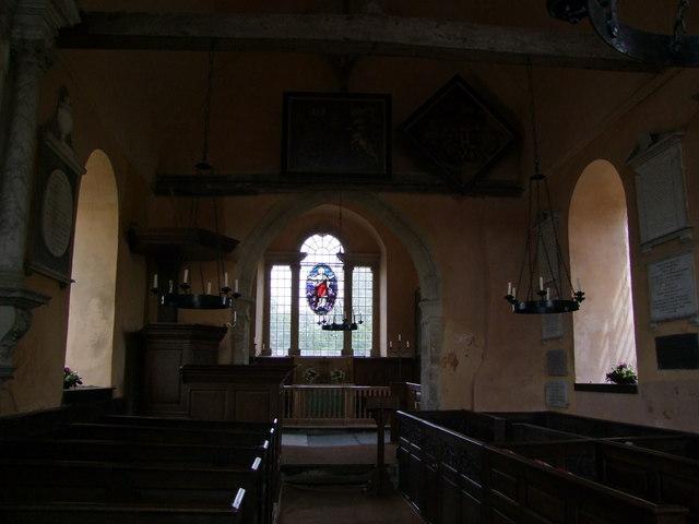 Interior of St Andrew's Church, Wheatfield