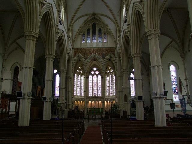 Interior, Andover Parish Church