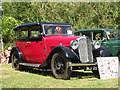 TQ9141 : Rover 12 at Darling Buds Classic Car Show by Oast House Archive