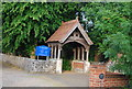 TG2006 : Lych Gate, St Andrew's Church, Eaton by N Chadwick