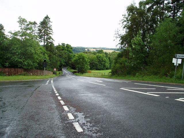 Brownlee Road at Mauldslie Road Law