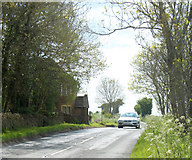 ST7879 : 2010 : Minor road looking west toward Tormarton by Maurice Pullin