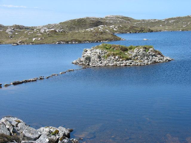 The Dun in Loch an Duin, Taransay