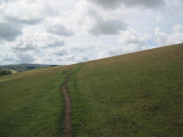 Bridleway near Great Ryle