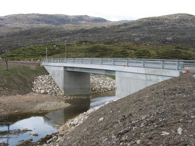 The new bridge at Liceasto