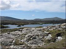 NG0888 : Loch Huamnavat by David Purchase