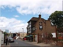 TQ2976 : The Pensbury Arms, Pensbury Street, Nine Elms by tristan forward