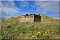 NZ2796 : World War 2 Fortification, Druridge bay by Paul Buckingham