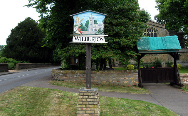 Village Sign, Wilburton, Cambs