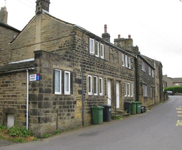 Cottages in School Street