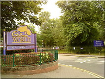 SP0481 : Entrance to Cadbury World by Andrew Abbott