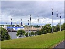 NZ3064 : 'Flash @ Hebburn', Hebburn Riverside Park by Andrew Curtis