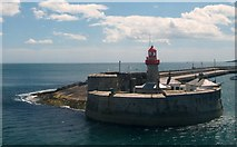 O2429 : The east pier lighthouse at Dun Laoghaire by Eric Jones