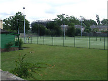 NT2273 : Murrayfield Tennis Club by Thomas Nugent