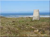 NF8070 : The summit trig point on Maireaval by David Purchase