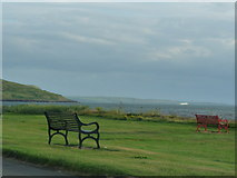 NX0882 : Ballantrae Shore Front by Billy McCrorie