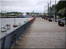 NZ3064 : Jetty, Hebburn Riverside by Andrew Curtis