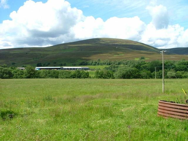 Grazing land in Strath Avon